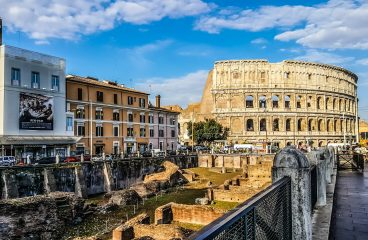 Summer holiday in Rome